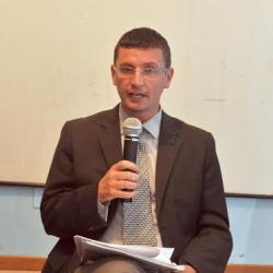 il consigliere di minoranza Marco Latella
