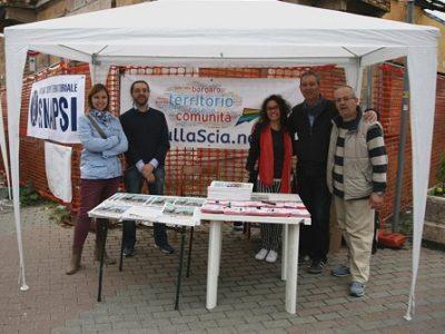 La redazione di SullaScia.net - Da sinistra: Giada Rapa, Marco Cavicchioli, Alessia Sette, Gianni D'Amelio, Cristiano Cravero
