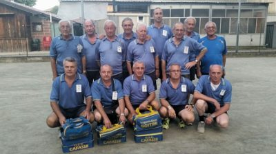 La squadra della Cafssese