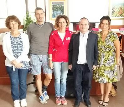 A destra Angela Grimaldi e Marco Bongi