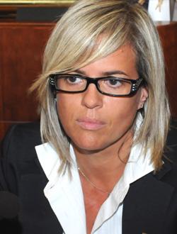 La Sindaca Loredana Devietti