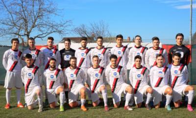 La squadra del Caselle Calcio