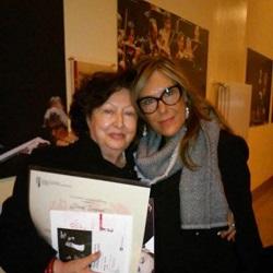 Carla Teppati con la figlia, Patrizia Brentan