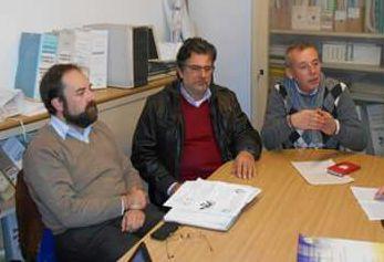 Da sinistra: Luca Baracco, Paolo Odetti e Paolo Gremo