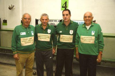 La squadra della Cooperativa Operaia Agricola di Borgaro