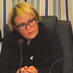 l'assessora all'Istruzione, Manuela Targa